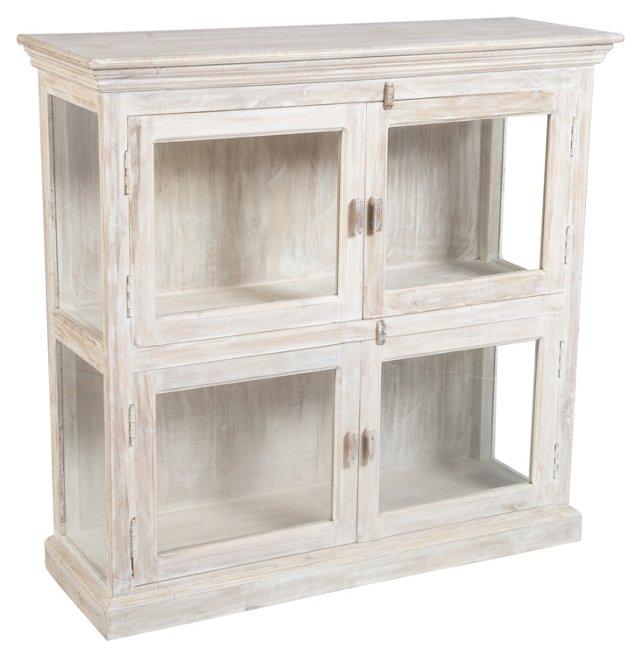 Barrett Display Cabinet, Light Oak