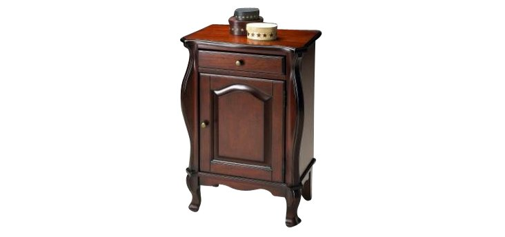 Keira Side Table, Cherry