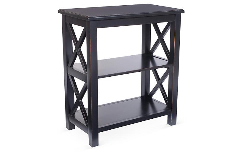 Minson Bookcase, Black