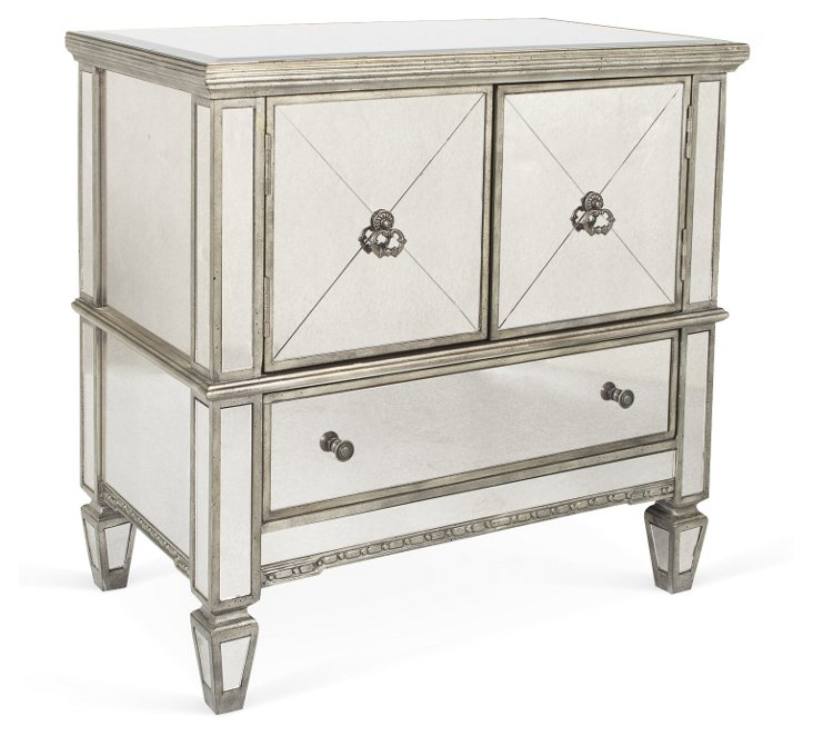 Dawson Chest, Pewter