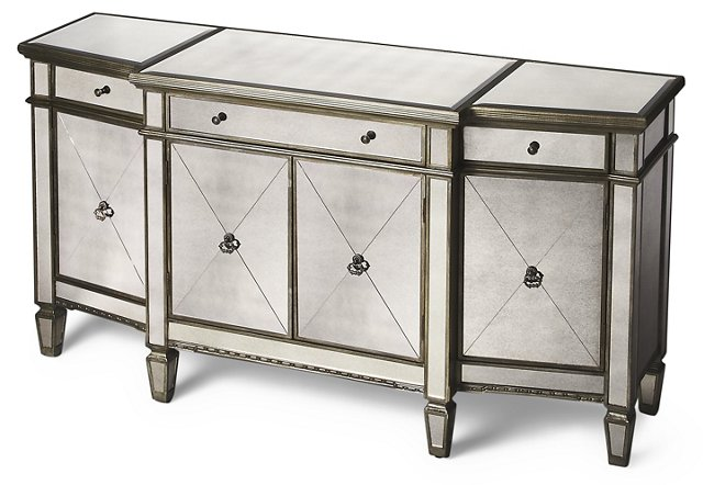 Murray Mirrored Buffet