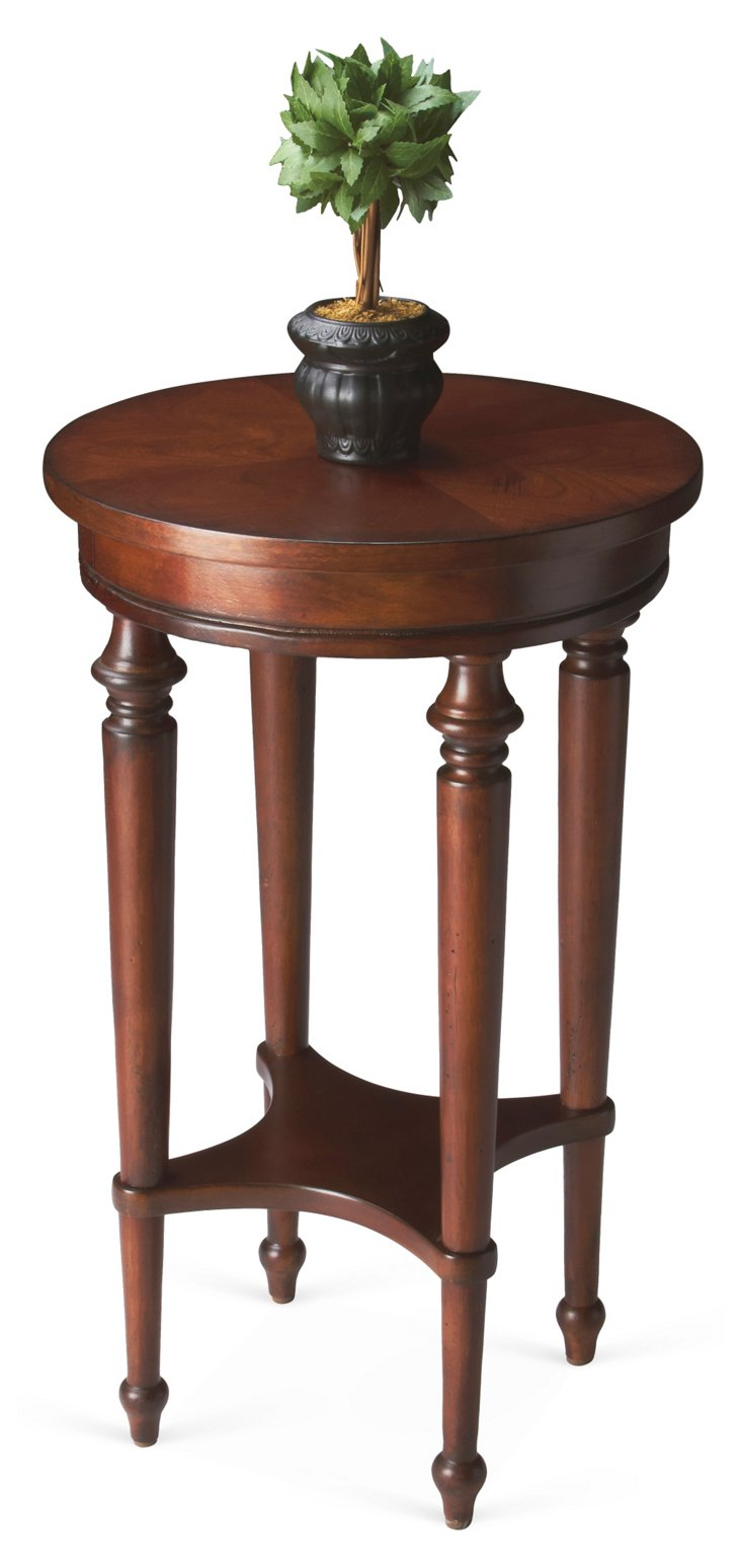 Mila Accent Table, Cherry