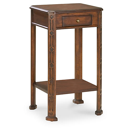 Marlow Accent Table, Cherry