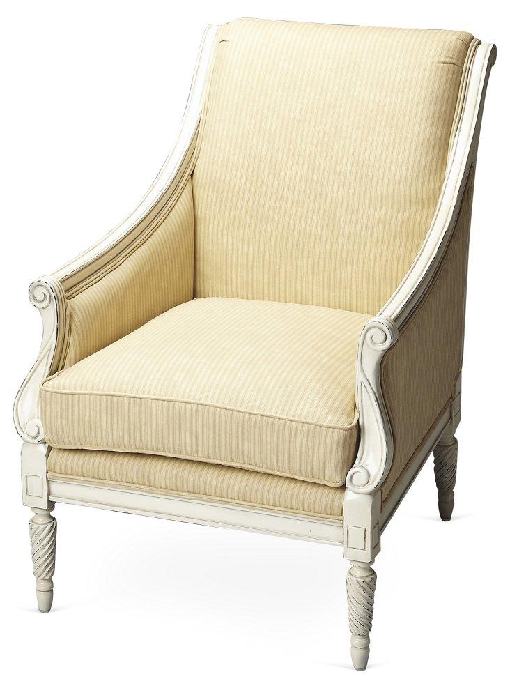 Neville Accent Chair, Butter