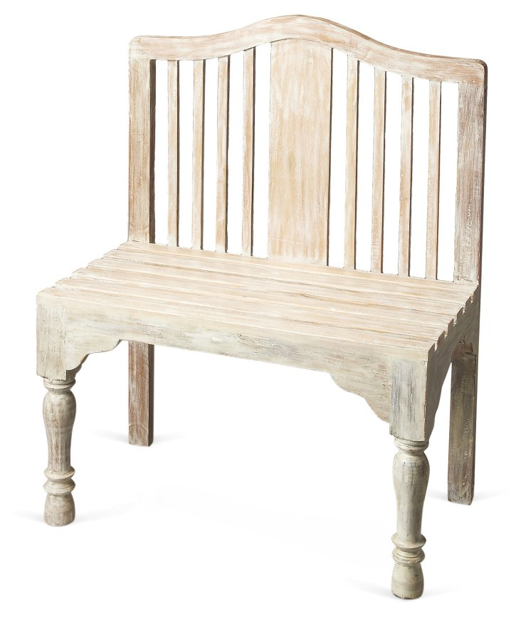 Andie Bench, Weathered White