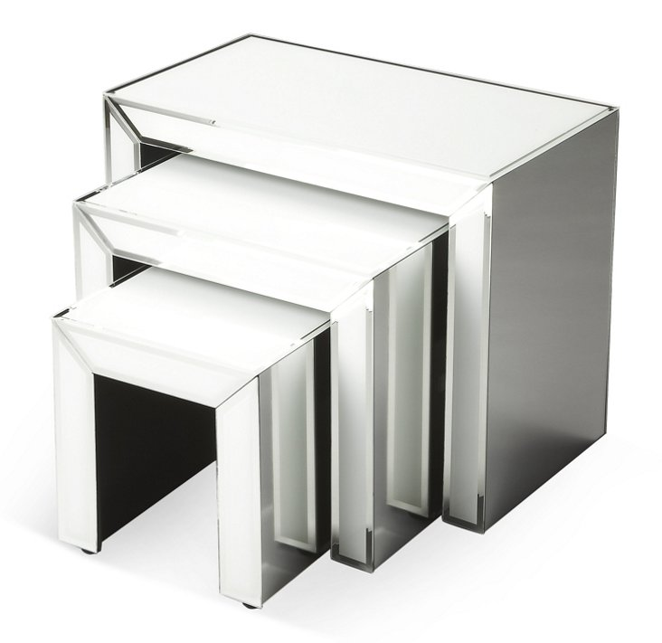 Catherine Nesting Tables, S/3