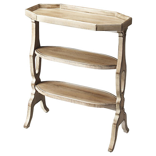 Savannah Petite Bookshelf, Natural Wood