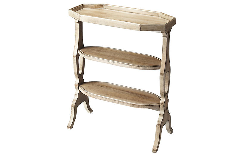 Savannah Petite Bookshelf - Natural Wood