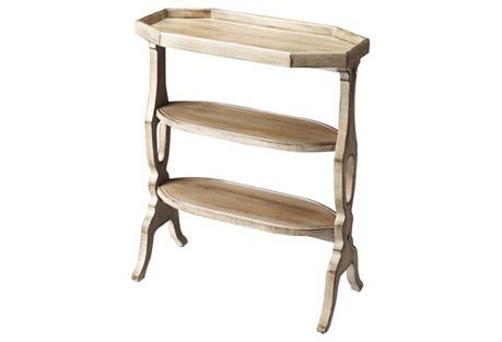 Savannah Petite Bookshelf, Natural Wood