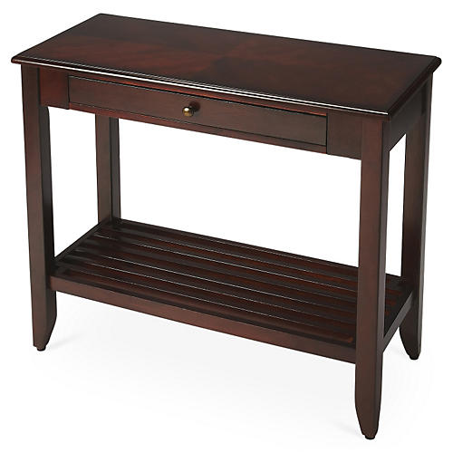 Charles 2-Tier Console, Cherry