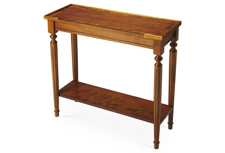 Jenna 2-Shelf Console, Cherry