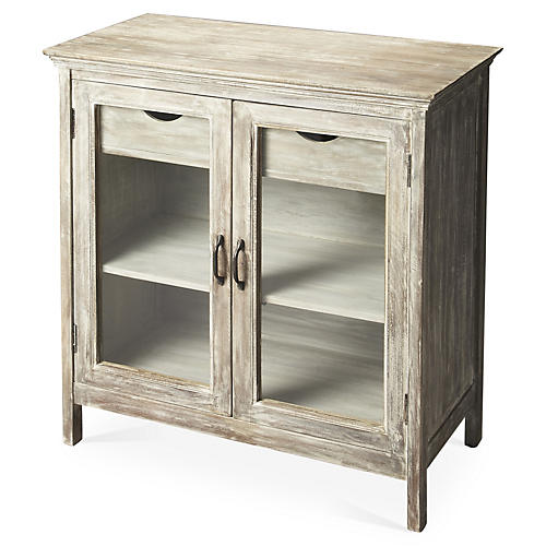 Kaimi 2-Drawer Sideboard, Off-White