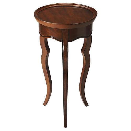 Liliha Round Side Table, Java