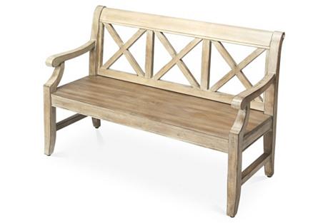 Jackson Bench, Driftwood
