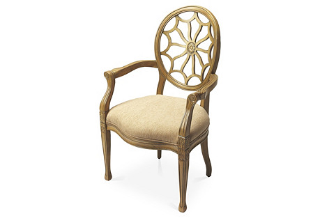 Tilly Accent Chair, Beige