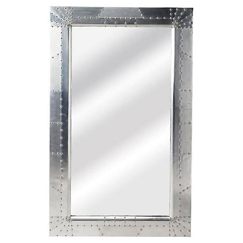 Michele Floor Mirror, Industrial Chic