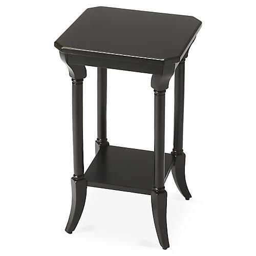 Holdrege Side Table, Black