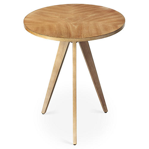 Lauren Side Table, Driftwood