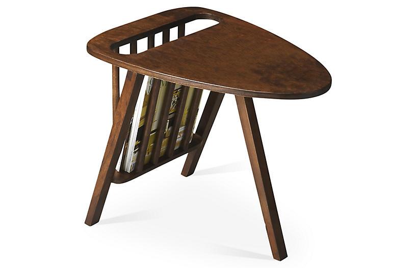 Hugo Side Table, Umber