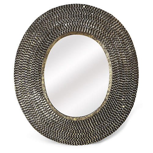 Radric Wall Mirror, Gold