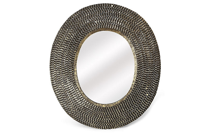 Radric Wall Mirror, Gold