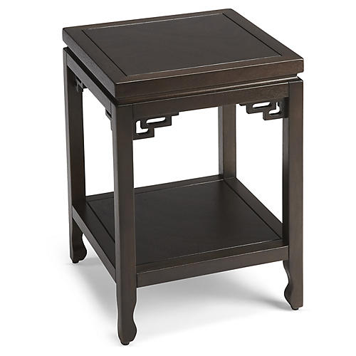 Brixton Side Table, Espresso