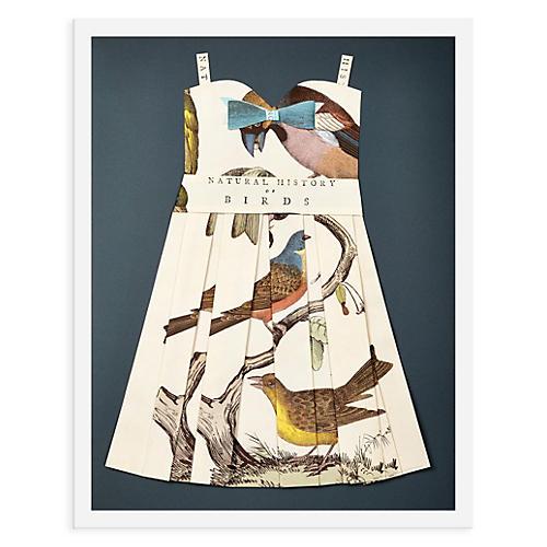 Folded Paper Dress, Birds
