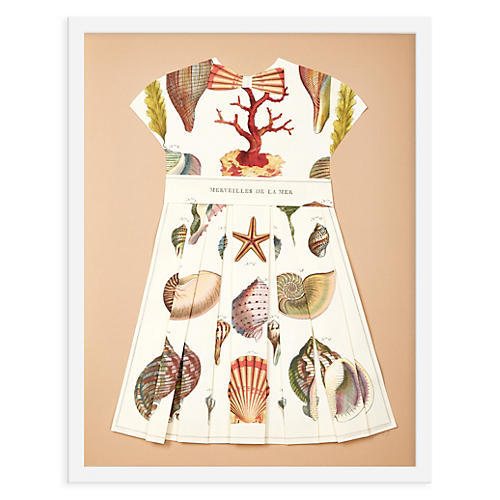 Folded Paper Dress, Shells