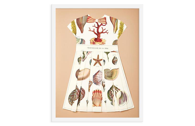 Folded Paper Dress, Shells