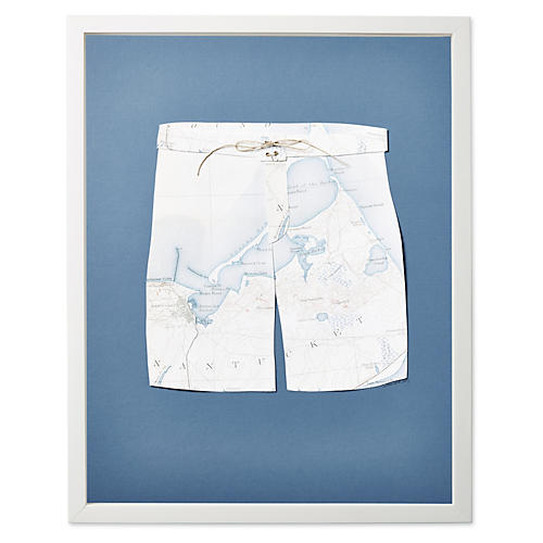Dawn Wolfe, Map Swim Trunks: Nantucket