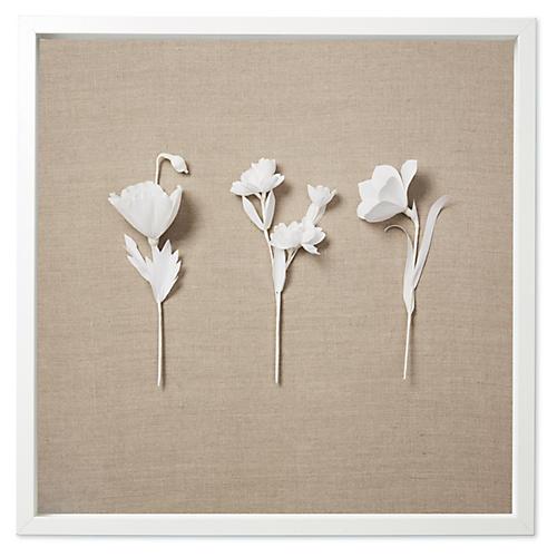 Dawn Wolfe, Flower Sprays on Flax
