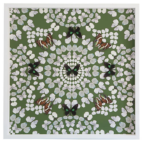 Dawn Wolfe, Butterfly Construction: Leaf Green