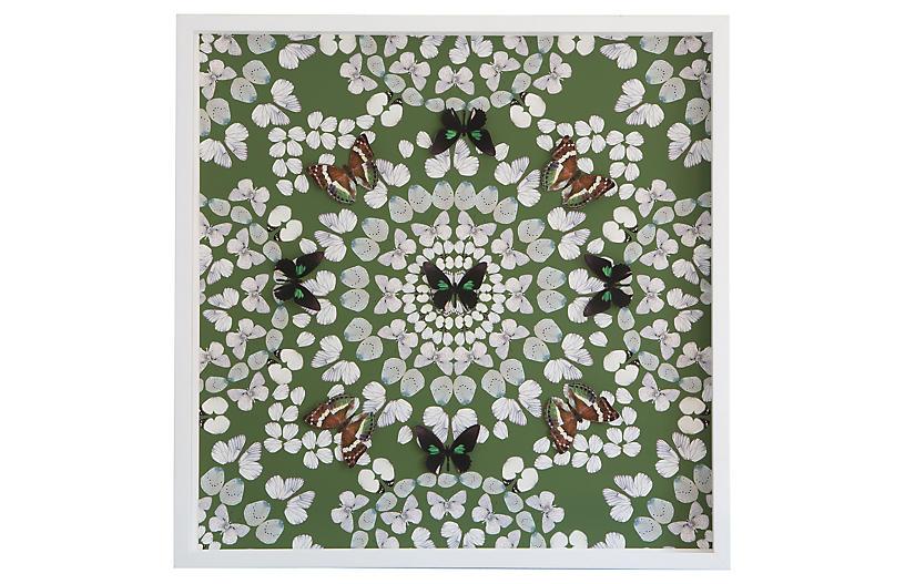 Dawn Wolfe, Butterfly Construction: Leaf Green