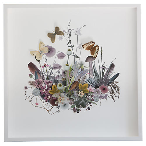 Dawn Wolfe, 3D Plant Montage: Muted
