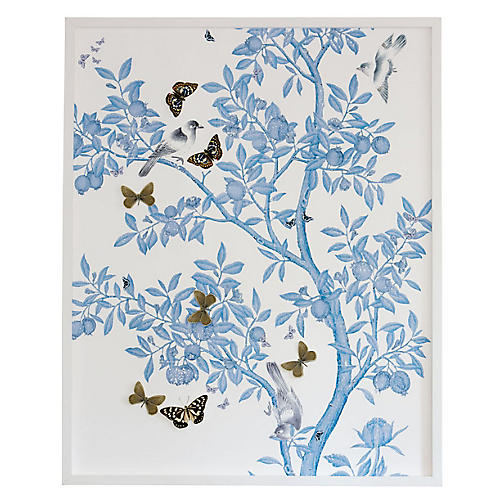 Dimensional Chinoiserie: Blue On White, Dawn Wolfe