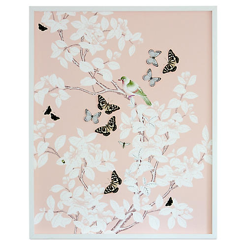 Dawn Wolfe, Dimensional Chinoiserie: Blush