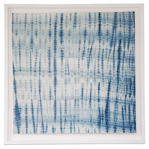 Turquoise Shibori, Dawn Wolfe
