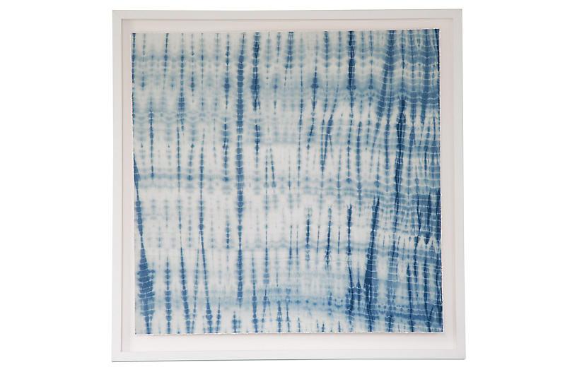 Dawn Wolfe, Turquoise Shibori