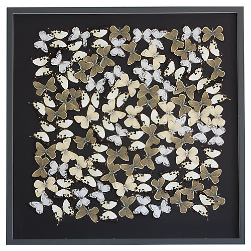 Dawn Wolfe, Dimensional Flower Pattern: Black