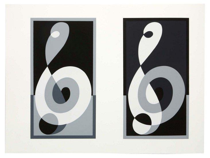 Josef Albers, Portfolio 1, Print 26