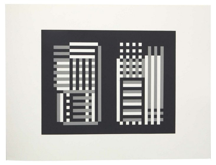 Josef Albers, Portfolio 2, Print 19