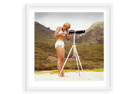 Tom Kelley, Bikini Girl and Camera