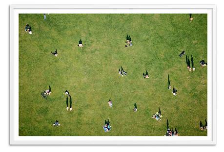 Central Park Aerial, Oversize