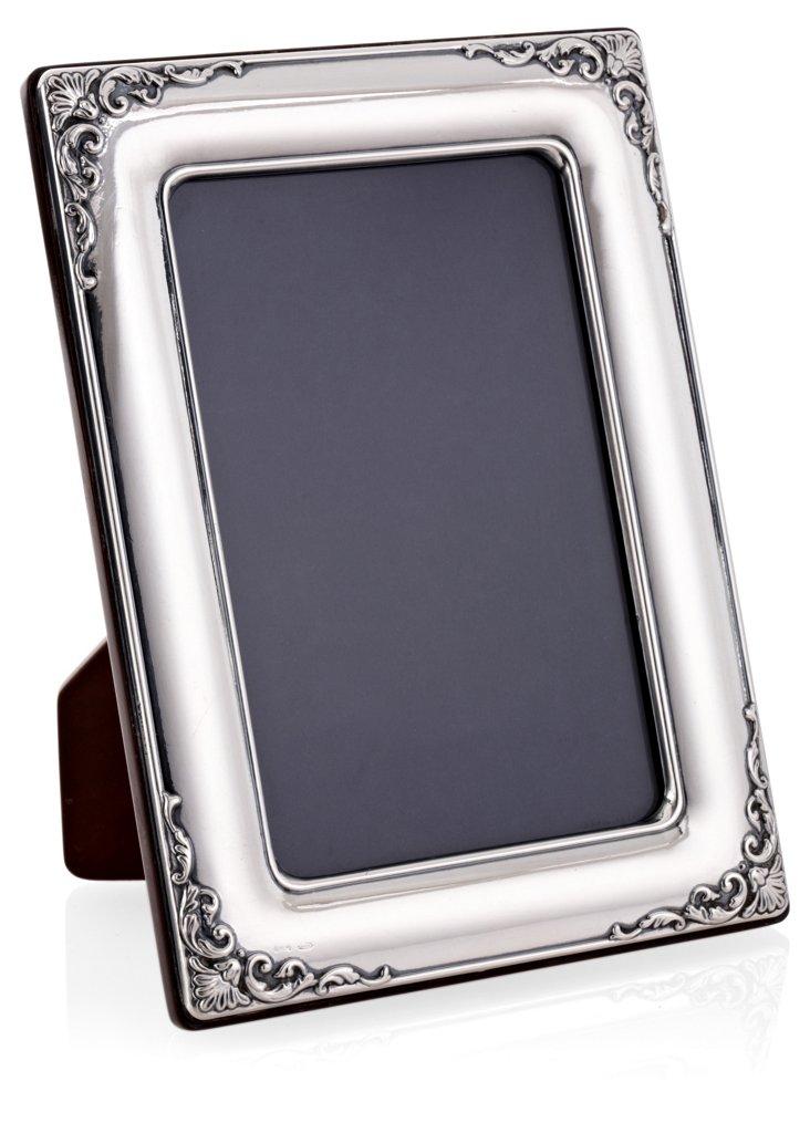 "Sterling Silver Scroll Frame, 4"" x 6"""