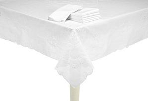 Belagio Tablecloth & 12 Napkins