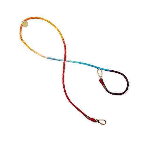 Chester Adjustable Dog Leash, Rainbow