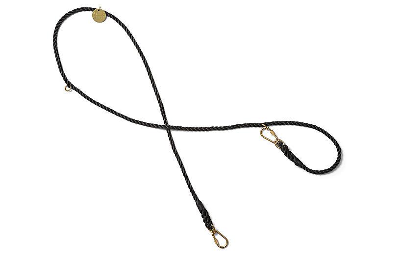 Chester Adjustable Dog Leash - Black