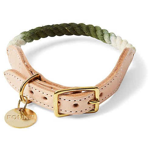Chester Pet Collar, Olive