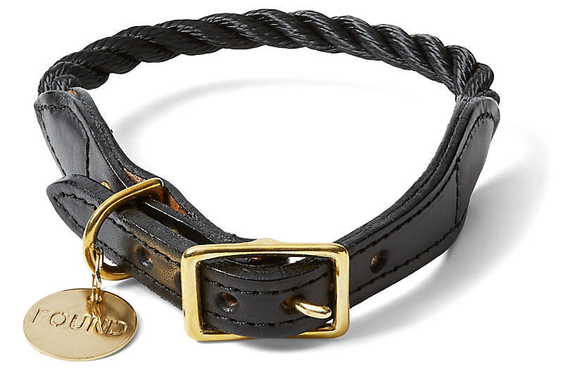 Chester Pet Collar, Black