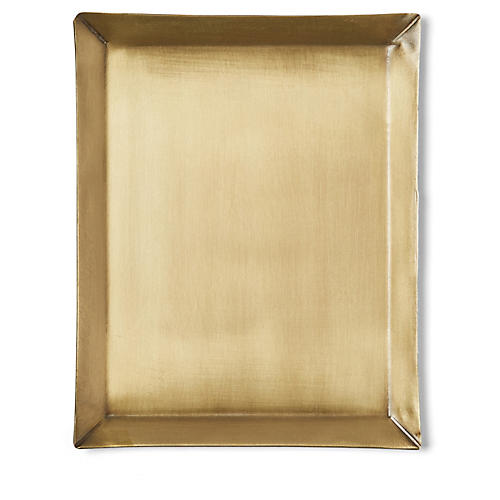Rectangle Plate, Brass